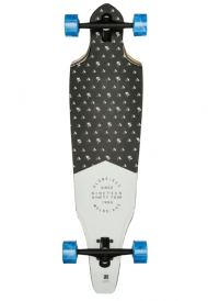 GLOBE THE RIEDLENTE LONGBOARD  CUTLER 36.5 Aloha From Hell