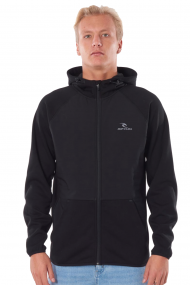 RIPCURL FLYER ANTI SERIES ZIP THROUGH HOODED JUMPER