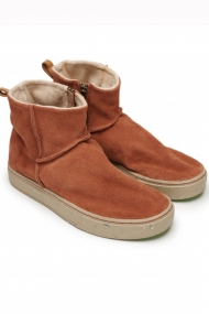 SATORISAN MERAKI LOW SUEDE AUTUMN LEAF