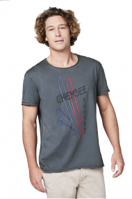 CHIEMSEE LIETUVOJE | T-SHIRT WITH BIG FRONTPRINT | SURFWAX