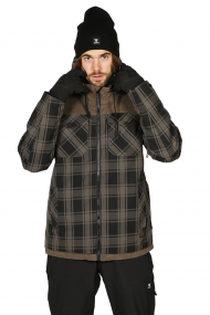 SURFSHOP SURFWAX  | BRUNOTTI BOWEN-CHECK MENS SNOWJACKET