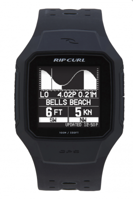 SURFWAX | RIPCURL LIETUVOJE |  LAIKRODIS SEARCH GPS SERIES 2 - WATCH