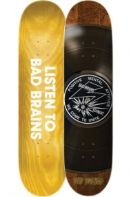 "ELEMENT BAD BRAINS 8.25"" BAD BRAINS SELECTOR - SKATEBOARD DECK"