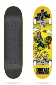 "CRUZADE THE INCREDIBLE FARTING MAN  8.25"" COMPLETE"