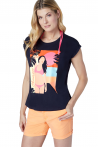 SURFWAX   CHIEMSEE LITHUANIA  FOULA WOMEN T-SHIRT    SURFWAX SURF CLOTHING SHOP SINCE 2010