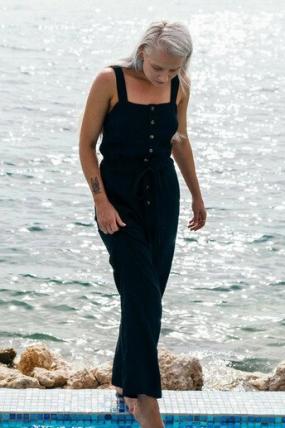 BillabongSandy Shores Jumpsuit  | stilingos laisvalaikio kombinezonas