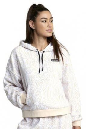 SURFWAX | RVCA bliuzonas džemperis Va Essential Hoodie FOR WOMEN | Surfwax Surf stiliaus aprangos parduotuvė nuo 2010
