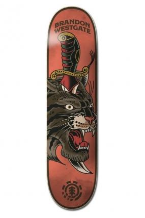 "Element 8.25"" Natural Defense Westgate ‑ Skateboard Deck| Riedlentės lenta Dekas | Surfwax"