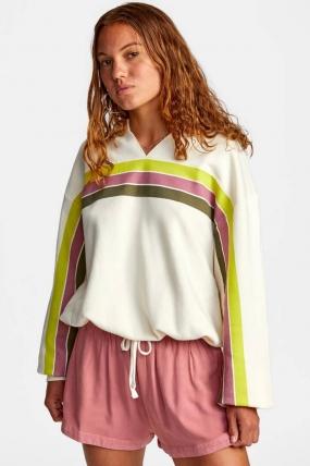 RVCA Mambo - Cropped Sweatshirt Moteriškas Megztinis|Surfwax Surf stiliaus apranga