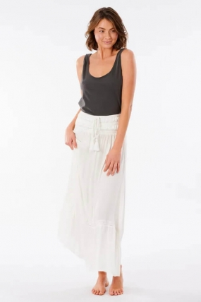 RipCurl Layla Maxi Skirt For Women Sijonas|Surfwax Surf stiliaus apranga