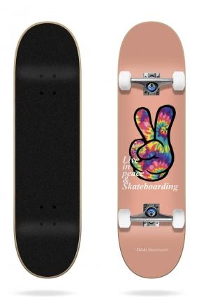Tricks Peace 7.75″ Complete Riedlentė| Surfwax Surf stiliaus apranga