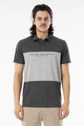 RipCurl Sections Vaporcool Polo Vyriški Marškinėliai| Surfwax Surf stiliaus apranga
