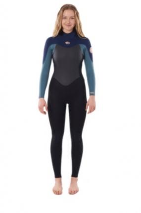 Rip Curl Womens Omega 4/3mm Moteriškas Hidrokostiumas  Surfwax Surf stiliaus apranga