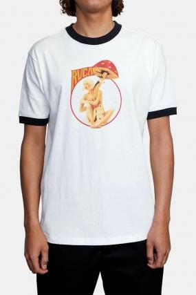 Rvca Trippy Dana Pulp Fusion - Vyriški Marškinėliai|Surfwax Surf stiliaus apranga