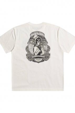 Rvca George Thompson Skull Bonnet - Vyriški Marškinėliai|Surfwax Surf stiliaus apranga