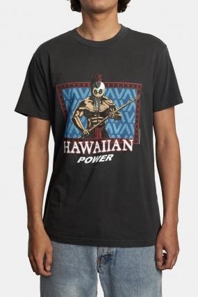 Rvca Evan Mock Hawaiian Warrior - Vyriški Marškinėliai|Surfwax Surf stiliaus apranga