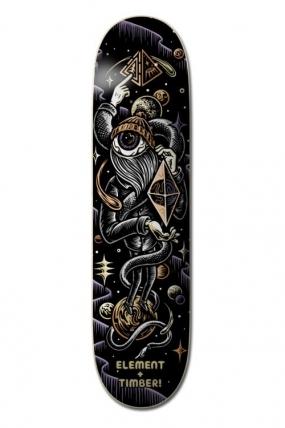"Element 8.5 ""Timber Orbit Eye Riedlentės Lenta Dekas| Surfwax Surf stiliaus apranga"