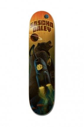 "Element 8.25"" Future Nature Sascha Riedlentės Lenta Dekas| Surfwax Surf stiliaus apranga"
