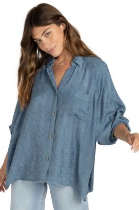 Billabong Isabel Moteriški Marškinėliai  Surfwax Surf stiliaus aprangos parduotuvė nuo 2010