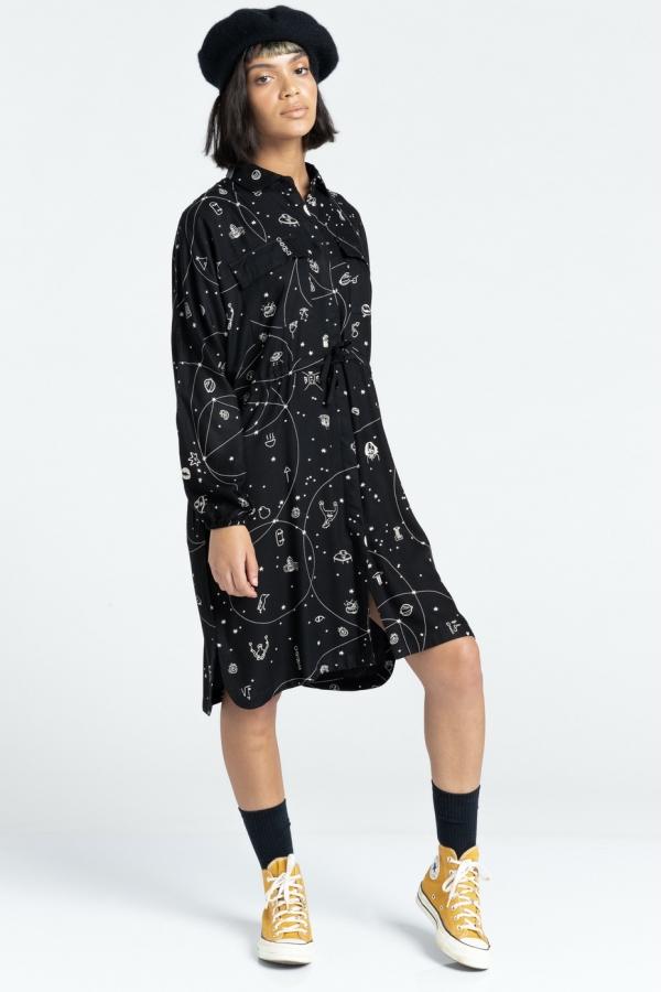 Element Hazel Suknelė Moterims|  Surfwax Surf stiliaus aprangos parduotuvė nuo 2010