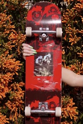 """Impala Blossom Skateboard 8.0""""  Riedlentė  Surfwax Surf stiliaus aprangos parduotuvė nuo 2010"""