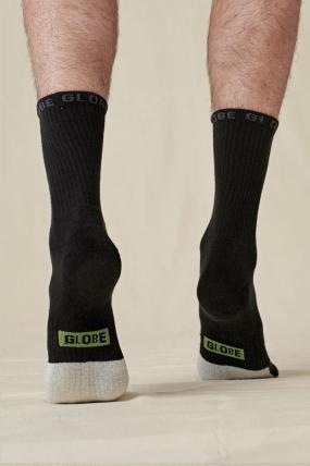 Globe Low Impact Crew Sock 3 Pack Kojinės| Surfwax Surf stiliaus aprangos parduotuvė nuo 2010