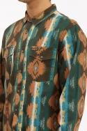 Billabong Wrangler Westward Twill Vyriški Marškinėliai Surfwax Surf stiliaus aprangos parduotuvė nuo 2010