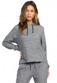 RVCA LEAVE IT RIBBED FLEECE SWEATSHIRT