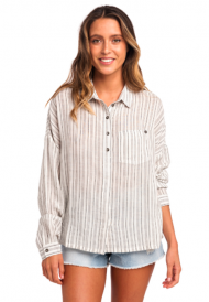 RIPCURL WHITE WASH LONG SLEEVE SHIRT