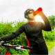 Ion8 Leak Proof Cycling Water Bottle, BPA Free, 750ml / 24oz, Red GERTUVĖ