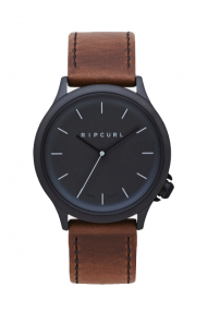 RIPCURL CURRENT MIDNIGHT LEATHER WATCH - LAIKRODIS