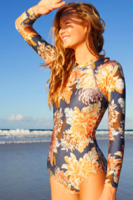 BILLABONG FLOWER LONG SLEEVE RASH VEST