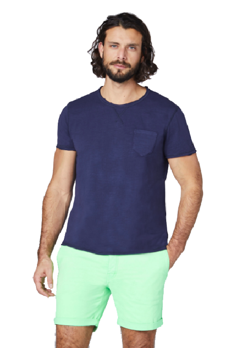 CHIEMSEE MEN T-SHIRT WITH ONE BREAST POCKET | MARŠKINĖLIAI | SURFWAX |SURFSHOP