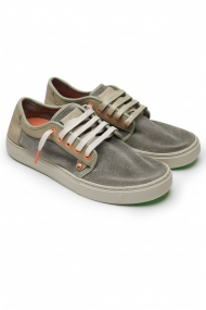 SATORISAN SHOES HEISEI SUEDE PUNCH STORMY 110011