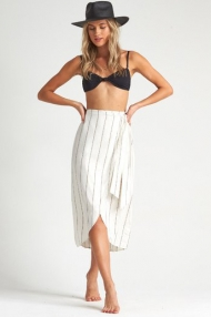 _BILLABONG STAY  SARONG  STRIPED SKIRT